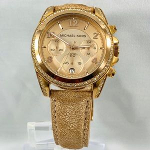 Michael Kors Chronograph Ladies Watch Swarovski